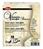 NEU Viva Decor Venezia Stein-Look Set Bianco