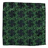 JAGENIE Vintage Herren Paisley Taschentuch Tasche Floral Einstecktuch Business Handtuch Anzug Taschentücher 10