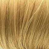 Prettyland - wild gestylter groß Dutt Haarteil Zopf Haarband Scrunchie Haargummi - BL80 helles gold-blond