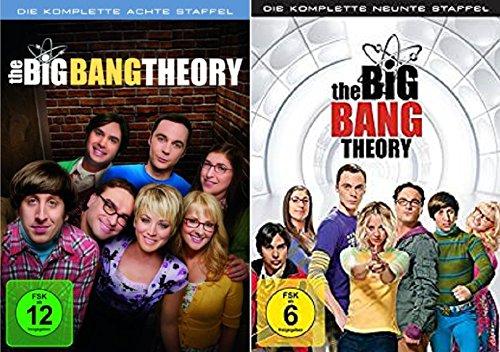 Cover The Big Bang Theory Season / Staffel 8+9 * DVD Set