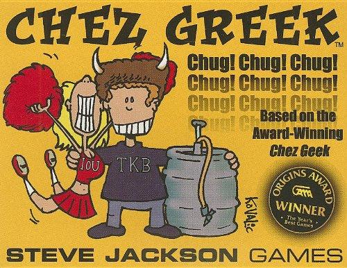 Steve Jackson Games 1352 - Chez Greek, englische Ausgabe