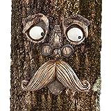 Bits and Pieces – Baum-Dekoration Alter Mann – Gartenkunst – Gartenskulptur – skurriles Baumgesicht
