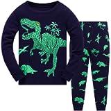 Buyao Pajamas Set for Boys Kids Short Baby Toddler Summer Cotton Sleepwear Short Sleeve Long Sleeve Pjs 1-7 Years Pyjama…