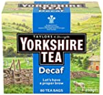 Yorkshire Tea Decaffeinated Tea 80 Ba...