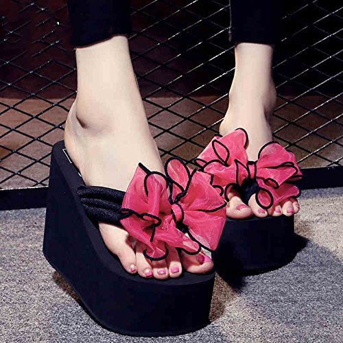 Estate Sandali 12 cm  Female antisdrucciolevoli spessi pattini della spiaggia di sabbia arco dolce sandali scarpe casual 9 tipi di colori Colore / formato facoltativo #1
