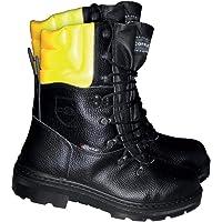 Cofra 25580-000 - Stivali da lavoro adatti a taglialegna Woodsman BIS, con funzione di protezione antitaglio, 41, colore…