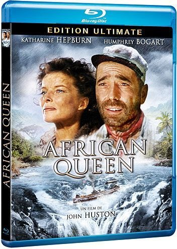 Humphrey Bogart African Queen (African queen [Blu-ray] [FR Import])
