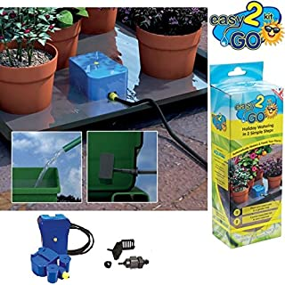 New Easy To Go Automatic Plant Holiday Self Watering Flower Plant Pot Garden Kit