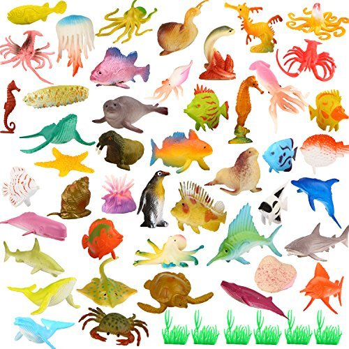 Action Figures Realistic Educational Sea Animal Figures Assorted Sea Animals Toys For Learning Yet Not Vulgar Animals & Dinosaurs