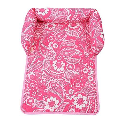Semme Hundebett Matte für Haustiere, Katzen, Welpen, Hunde, strapazierfähig, Abnehmbarer Stoff, großes Kissen für Sofa, Stuhl, Auto, Bett