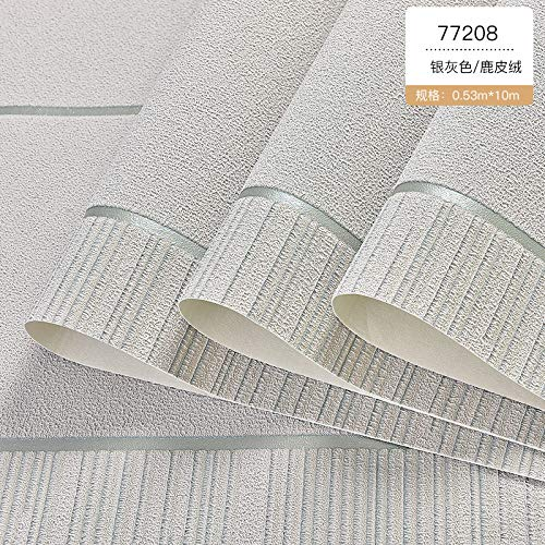 Preisvergleich Produktbild ZCHENG Einfache moderne dreidimensionale gestreiften dreischichtige 3D-Tapete aus Hirschleder Vlies-Tapete im Wohnzimmer