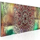 murando Bilder Mandala 150x50 cm - Vlies Leinwandbild - 1 Teilig - Kunstdruck - modern - Wandbilder XXL - Wanddekoration - Design - Wand Bild - Orient Zen f-A-0587-b-a