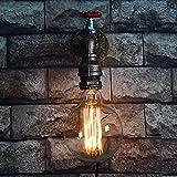 Pumpink Vintage Loft Wasserleitung Wandleuchte E27 Bar Restaurant Schmiedeeisen Lndustrial Wandleuchten Leuchte Licht Leuchte Ventil Wandleuchte Steampunk Lampe