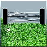 Einhell Hand Rasenmäher GC-HM 40 (40 cm Schnittbreite, max. 35 mm Schnitthöhe, 27 l Fangkorb, empfohlen bis 250 m²) -