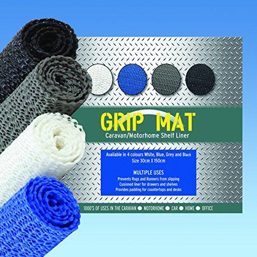 Rutschfeste Matte Blau 150x 30cm Rolle–Hunderte von Anwendungen–rutschfest