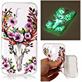 Coque Samsung Galaxy J7 2017, BONROY® Samsung Galaxy J7 2017 SM-J730 Housse Luminous Effect Noctilucent Green Glow in the Dark Ultra Mince Souple Gel TPU Bumper Poussiere Resistance Anti-Scratch Coque Housse Pour Samsung Galaxy J7 2017 SM-J730 - Sika Deer