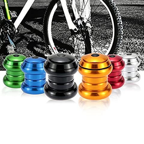 'sypure (TM) Mountain Bike Road Bike Headsets Threadless External Headsets Sealed Cartridge Bearings 34mm 11/8Bicycle Parts 6Colors rouge