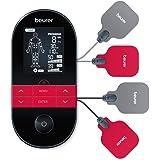 Beurer EM 59 Heat Digitaal TENS/EMS-Apparaat, 4-in-1 Stimulatiestroomapparaat voor Pijntherapie, Spierstimulatie, Massage en