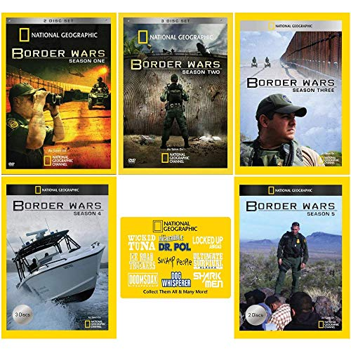 Border Wars: Complete Nat Geo TV Series Seasons 1-5 with Bonus Art Card