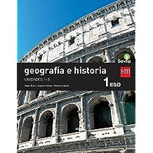 Geografía e historia. 1 ESO. Savia. Trimestres - 9788467583427
