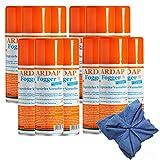 12 x 200 ml Ardap FOGGER Ungeziefer Sprühautomat gegen Flöhe + Microfasertuch