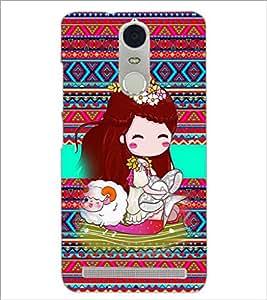 PrintDhaba Cartoon D-3680 Back Case Cover for LENOVO K5 NOTE (Multi-Coloured)