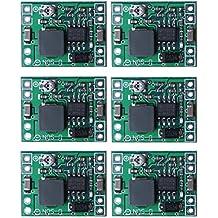 sicai 6piezas Mini mp1584en Step-Down Módulo de alimentación ajustable DC-DC de 24V a 12V 9V 5V 3V Buck convertidor