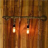 VanMe Vintage Tubazione Acqua Lampade Da Parete Industriali Loft Lampada
