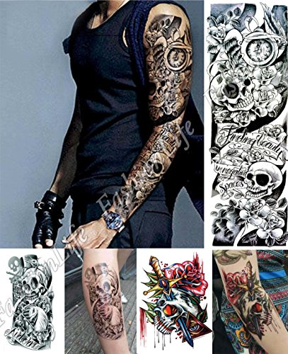 stickers-de-tatouage-temporaire-pour-lart-corporel-set-3-sheets-3-pcs-arm2-temporary-tattoo-body-tat