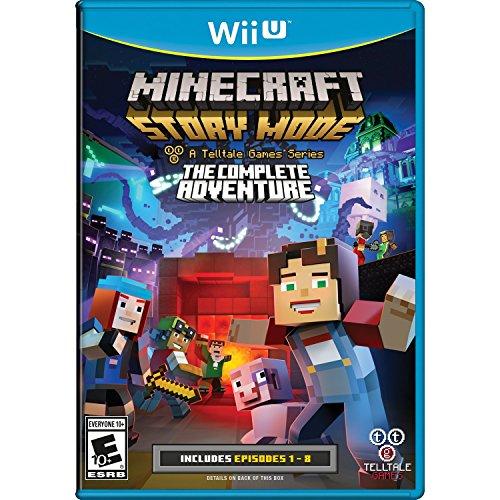 Minecraft Story Mode - The Complete Adventure - Wii U - Mode Wii-spiele,