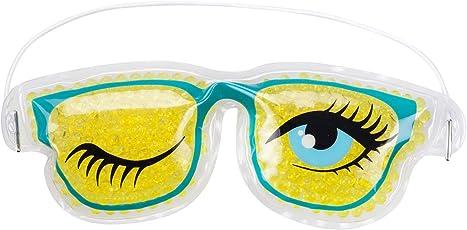 'Maschera in Gel per gli occhi occhiali