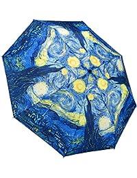 Galleria auto plegable de apertura y cierre paraguas - Van Gogh Noche estrellada Arte