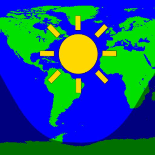 Daylight World Map: Amazon.de: Apps für Android