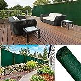 ProBache - Brise vue renforcé 2 x 10 m vert 220 gr/m² luxe pro