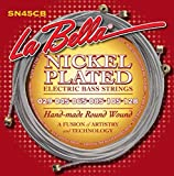 LaBella 678798 E-Bass Plated Strings Nickel Roundwound 6-string Set