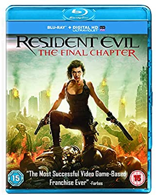 Resident Evil: The Final Chapter [Blu-ray] [2017]