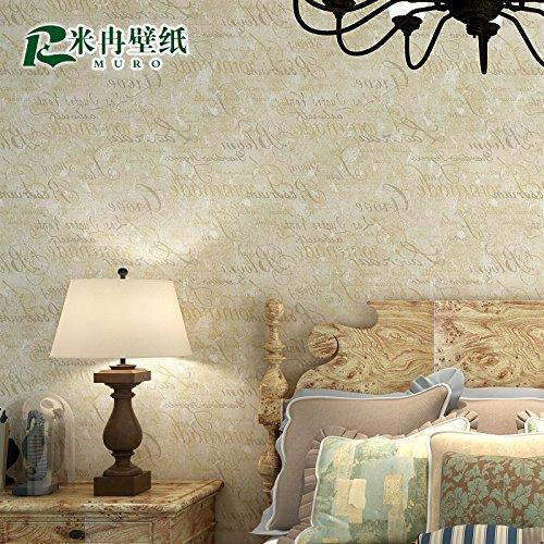 Wall Sticker Retro englischsprachige Zeitung den Schlafzimmer Wohnzimmer Wand Passage ,5966 Retro M GRÜN,
