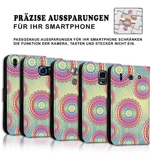 Wallet Book Style Flip Handy Tasche Case Schutz Hülle Schale Motiv Etui für Apple iPhone 6 Plus / 6S Plus - Variante UMV18 Design12 Design 12