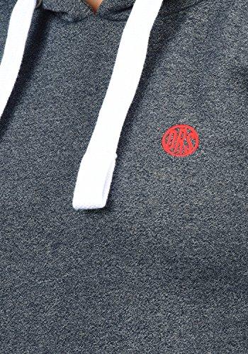 DESIRES Bennja Damen Kapuzenpullover Hoodie Sweatshirt mit Kapuze aus hochwertiger Baumwollmischung Meliert, Größe:M, Farbe:Insignia Blue Melange (8991) - 4