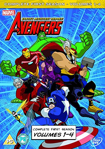 [UK-Import]Avengers Earth's Mightiest Heroes Vols. 1-4 DVD