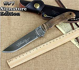 Couteau de chasse Browning gravé - chasse, outdoor, randonnée, hunting knife