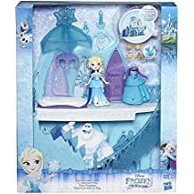 Frozen - Mini castillo mágico de Elsa (Hasbro B5197EU4)