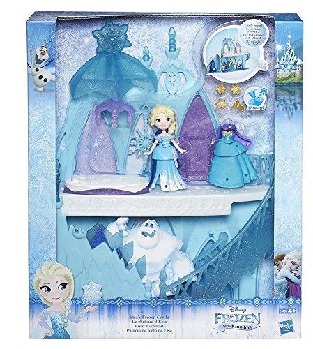 Hasbro Disney Die Eiskönigin B5197EU4 - Disney Die Eiskönigin Little Kingdom Elsa's Eispalast, Puppen Palast