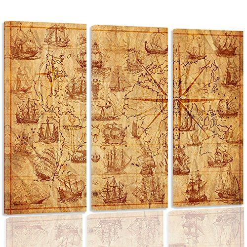 Vintage Map The Best Amazon Price In Savemoney Es
