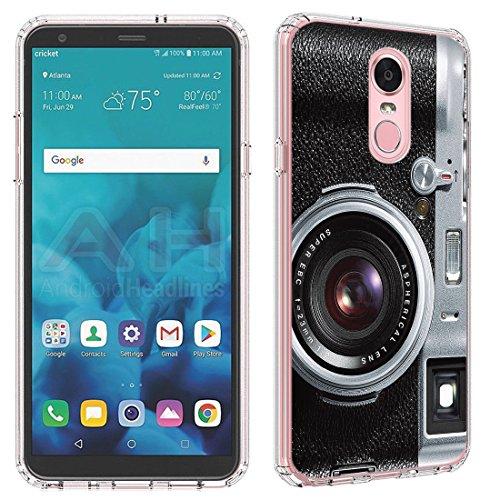 LG Stylo 4Fall (Klar) paletteshield Flexible Slim TPU Haut Phone Cover (Passgenau LG Stylo 4/F Stift) Designs FBA3, IM510 -