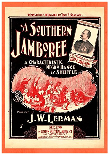 WONDERFUL A4 GLOSSY ART PRINT - 'A SOUTHERN JAMBOREE' - CIRCA 1899