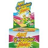 Goleador Maxi Shock, la Doppia Caramella Gommosa Ricoperta di Zucchero, Box da 130 Pezzi, Frizzante con Gusti Assortiti…