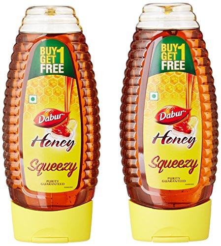 Dabur 100% Pure Honey Squeezy Pack 61VxJh4uL0L