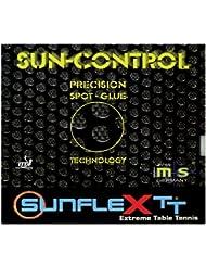 sunflex sport Revêtement de compétition  pour raquette de tennis de table  SUN Control 2,2 mm Rouge