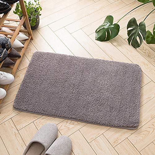 Szxin Alfombrilla de baño Alfombrilla de baño IKEA Microfibra Absorber Rectángulo Alfombrillas de baño con Absorbente de Agua Lavable a...